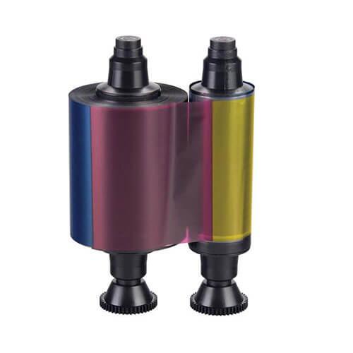 R3011 YMCKO fargebånd til Pebble, Dualys, Matica, Dupla og Duplo