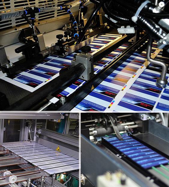 Trykk og produksjon plastkort