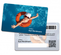 Standard Plastkort